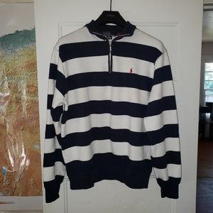 Polo by Ralph Lauren halfzip pullover size M